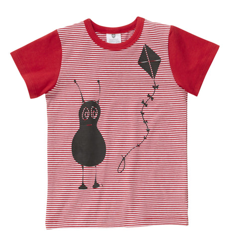 Little Fly The Kite Tee - Red