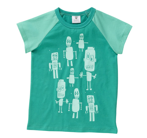 Little Robot Army Tee