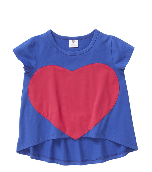Big Love Tee Cobalt (2-7)