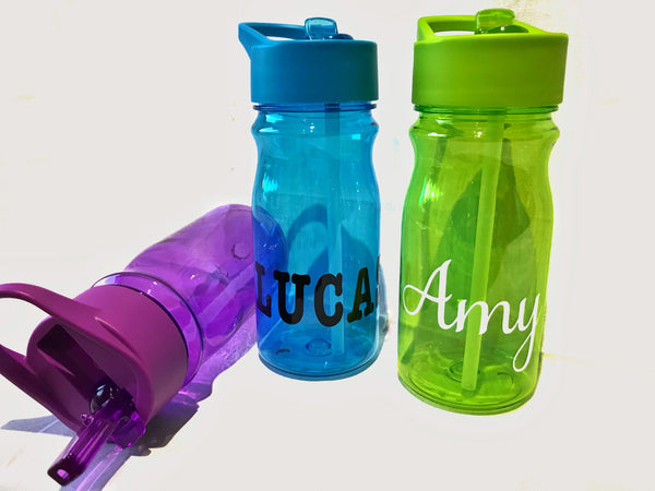 Junior Tutti-Frutti Personalised Drink Bottles (500ml)