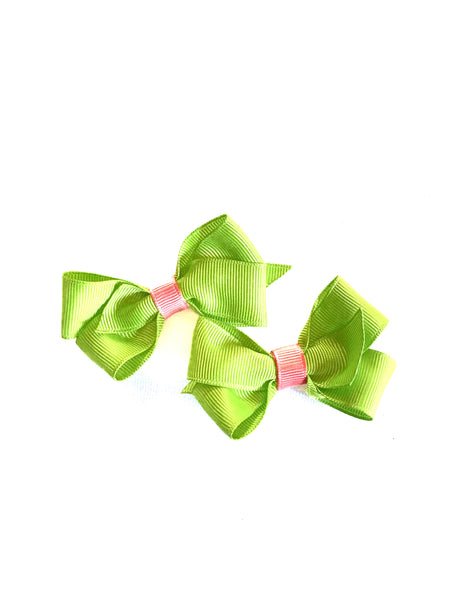 "Handmade 3"" Hair Bow Clip Sets"
