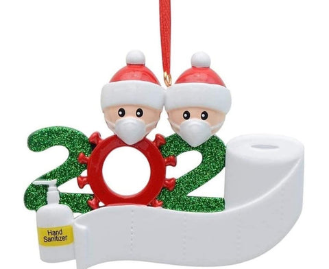 2020 Personalised Christmas Decoration