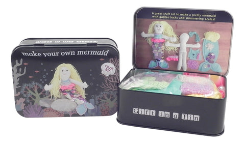 Make Your Own Mermaid in a Tin