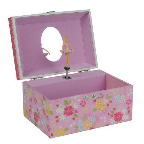 Strawberry Fields Musical Jewellery Box