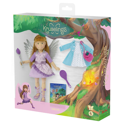 Kruselings Fairy Doll Deluxe Set - Chloe