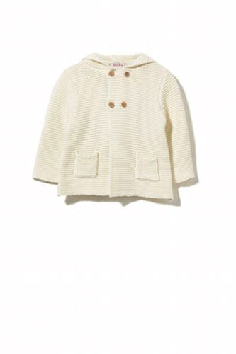 Milky Cream Knit Jacket