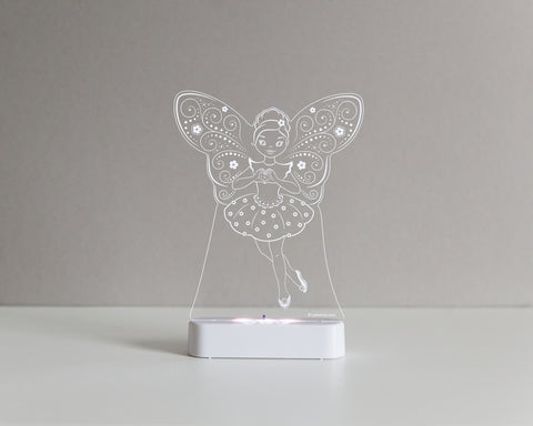 Ballerina Fairy Sleepy Light (Dual Powered)
