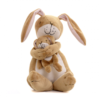 Nut Brown Hare Lullaby Plush