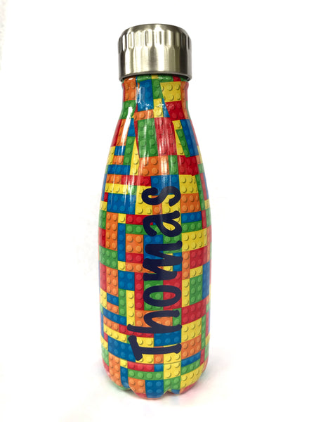 Oasis Bricks Personalised Drink Bottle