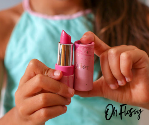 Oh Flossy 'Olive you' Natural Lip Balm