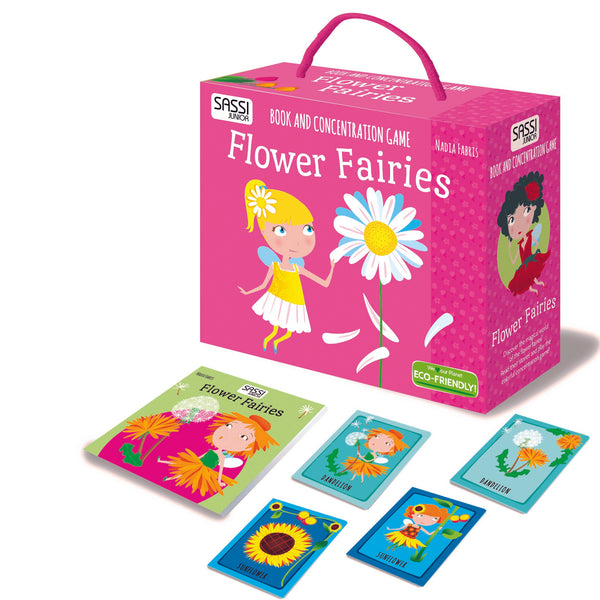 Flower Fairies Book and Memory Game Box Set