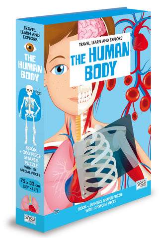 The Human Body - Book and Puzzle