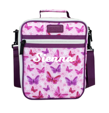 Butterflies Insulated Lunch Tote