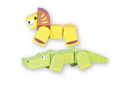 Snap Blocks - Lion and Crocodile