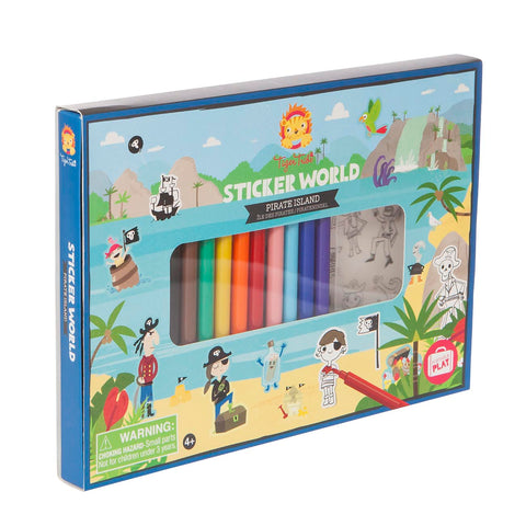 Sticker World - Pirate Island
