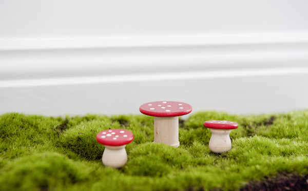Mushroom Table & Chairs