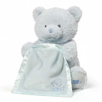 (Sold Out) Gund Peek-a-Boo Bear Blue