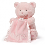 (Sold Out) Gund Peek-a-Boo Bear Pink