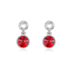 Swarovski Elements Small Crystal Drop Earrings