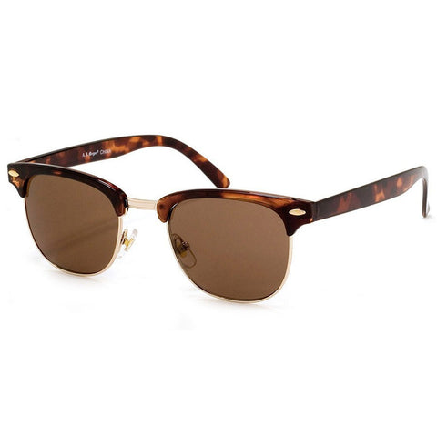 "A.J. Morgan Tortoise ""SoHo' Sunglasses"