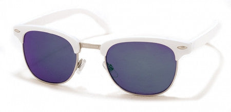 A.J. Morgan White 'SoHo' Sunglasses