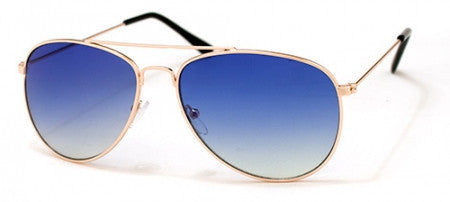 A.J. Morgan Gold Blue ' Skye ' Aviator Sunglasses