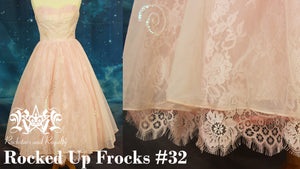Rocked Up Frocks - Vintage Party Dress Revamp