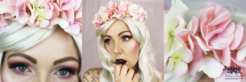 Rockstars and Royalty DIY Flower Crown Tutorial YouTube
