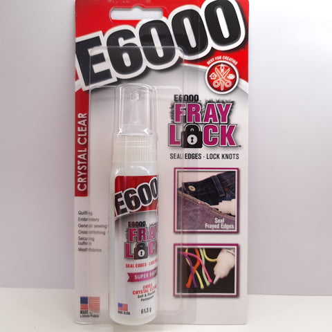 E6000 Fray Lock available from Rockstars and Royalty, Canberra, Australia