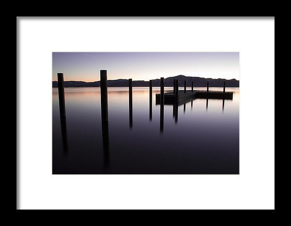 Reflective Thoughts by Brad Scott - Framed Print