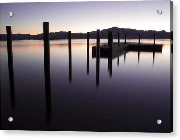 Reflective Thoughts by Brad Scott - Acrylic Print