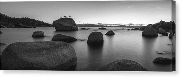 "Serenity - Canvas Print-20.000"" x 7.125""-Lake Tahoe Prints"