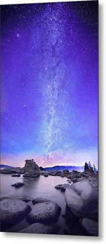 Star Gazer - Metal Print-Lake Tahoe Prints