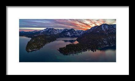 50 Shades Of Tahoe by Brad Scott - Framed Print-Lake Tahoe Prints