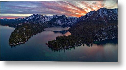 50 Shades Of Tahoe by Brad Scott - Metal Print-Lake Tahoe Prints