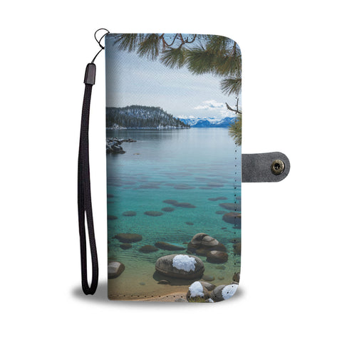 Glistening Cove by Brad Scott Phone Case Wallet-Wallet Case-Lake Tahoe Prints