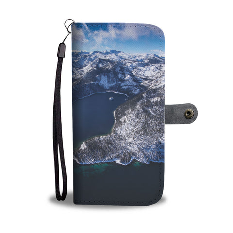 Emerald Bay Gem by Brad Scott - Phone Case Wallet-Wallet Case-Lake Tahoe Prints