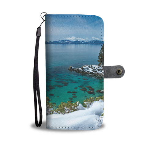 Blue Bird by Brad Scott - Phone Case Wallet-Wallet Case-Lake Tahoe Prints