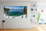 Blue Bird Secret Cove By Brad Scott - Canvas Print-Lake Tahoe Prints