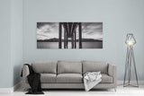 Window Of Perfection Monochromatic by Brad Scott - Metal Print