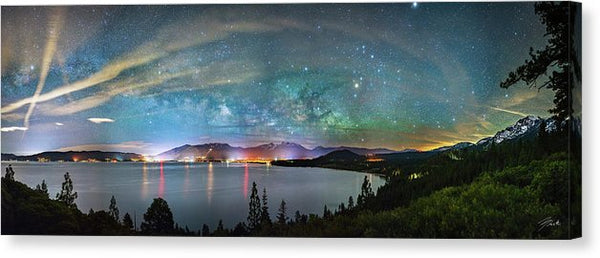 A City Full Of Stars By Brad Scott - Canvas Print