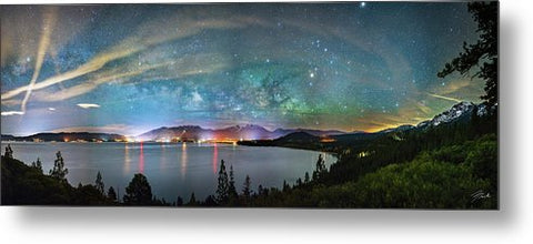A City Full Of Stars By Brad Scott - Metal Print