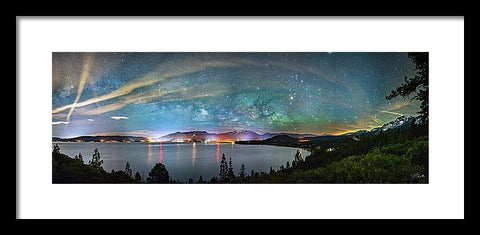 A City Full Of Stars By Brad Scott - Framed Print