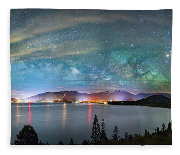 A City Full Of Stars By Brad Scott - Blanket