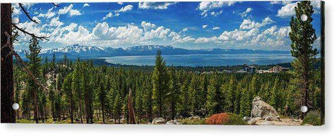 A Heavenly View By Brad Scott - Acrylic Print
