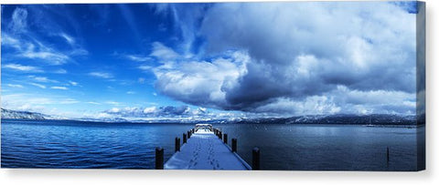 "A Tahoe Winters Dream - Canvas Print-20.000"" x 7.000""-Lake Tahoe Prints"