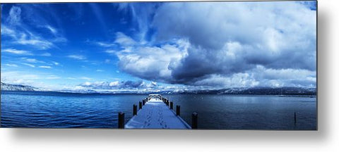 A Tahoe Winters Dream - Metal Print