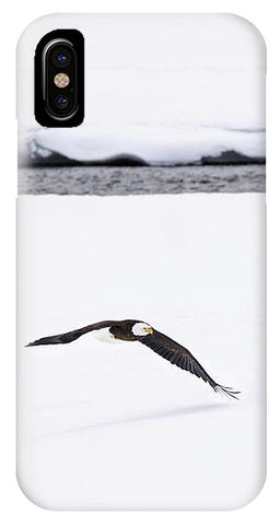 Bald Eagle Fly By - Phone Case-Lake Tahoe Prints