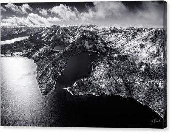 "Black Emerald by Brad Scott - Limited Edition - Canvas Print-12.000"" x 8.000""-Lake Tahoe Prints"