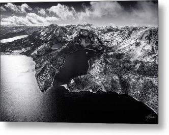 Black Emerald by Brad Scott - Limited Edition - Metal Print-Metal Print-Lake Tahoe Prints